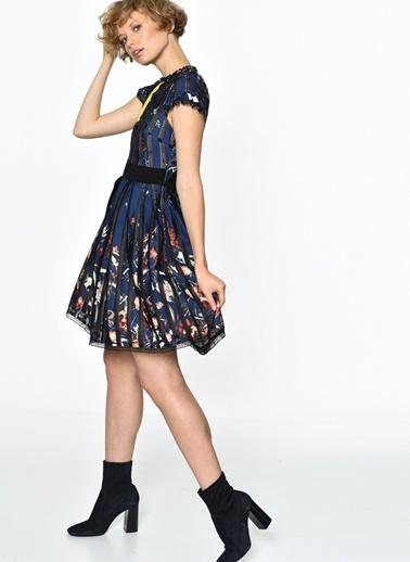 Foxiedox Elbise Renkli